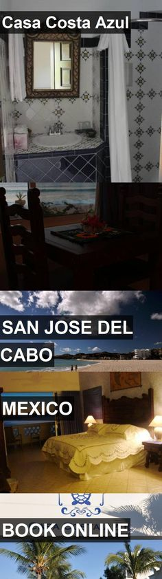 Hotel Casa Costa Azul in San Jose Del Cabo, Mexico. For more information, photos, reviews and best prices please follow the link. #Mexico #SanJoseDelCabo #travel #vacation #hotel