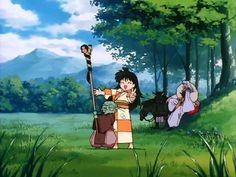 Image about rin in Inuyasha by Line Yoshiyuki Hama Miroku, Kagome Higurashi, Inuyasha Memes, Tenten Naruto, Anime Manga, Anime Art, Inuyasha And Sesshomaru, Avatar, Netflix Anime