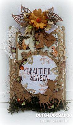 Autumn Woods label