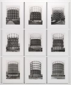 'Gas Tanks', Bernd Becher and Hilla Becher, 1965–2009 | Tate