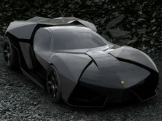 Lamborghini Ankonian - The Batmobile.