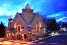 Terrapin Restaurant, Rhinebeck NY, a new spirit for an old church. Enjoyed a heavenly, dinner at this wonderful old church on a cool summer night long back when it first converted!