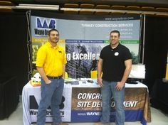 Wayne Brothers found some great talent at the Appalachian State University Career Fair in Boone, NC. http://waynebrothers.com/Careers/ConstructionJobs.aspx