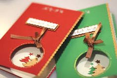 Znalezione obrazy dla zapytania kartki na boże narodzenie Christmas Crafts, Christmas Ornaments, Holiday Decor, Diy, Ideas, Xmas Cards, Christmas, Tips, Bricolage