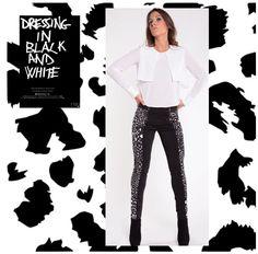 PRINT LEOPARD BLACK & WHITE! Outono com estilo! Túnica ref.: TKI1418 Leggings ref.: LGI1411  Disponível nas lojas  Vila Nova de Gaia e São João da Madeira. Também em www.zumbi.pt