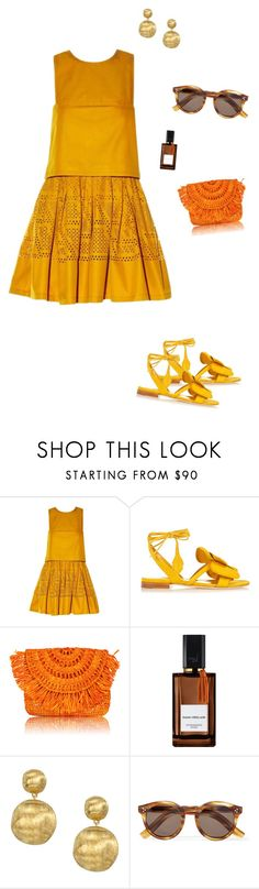 """Untitled #2539"" by nujixo ❤ liked on Polyvore featuring Fendi, Olgana, Diana Vreeland, Marco Bicego and Illesteva"