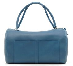 The Melodie Bag by Parisian designer Avril Gau is a clean, architectural ladies' duffle/handbag in a  sumptuous shade of blue: an easy color to pair with any neutral. Lightweight, roomy and with an ...
