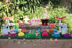 """In The Night Garden Lolly Buffet styled by """"Ever So Sweet"""""""
