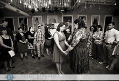 Same-sex wedding ceremony at Porta in Asbury Park, NJ|jersey shore wedding|bride and bride wedding|love is love|New Jersey wedding photographer Leslie Barbaro