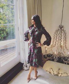 The amazing Christine Lampard in our Julia dress Luxury Dress, Label Design, Stylists, Weather, News, Celebrities, Lady, Breakfast, Amazing