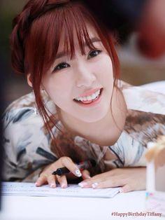 140801 Happy Birthday Tiffany snsd ❤️ #26th