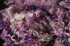 Purple Paradise - Hand Dyed Teeswater Locks - 1oz by NickelbeeArtStudio on Etsy https://www.etsy.com/listing/194173278/purple-paradise-hand-dyed-teeswater