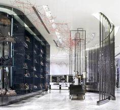 Lane Crawford Beijing - great department store design.