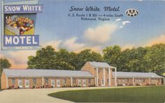 Snow White Motel, Prints and Photographs, LVA.