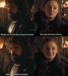 Sansa Stark, Tyrion Lannister - Game of Thrones Tyrion And Sansa, Sansa Stark, Captain Underpants Series, Movie Invitation, Hbo Got, Game Of Thrones Meme, Valar Dohaeris, Valar Morghulis, Another A
