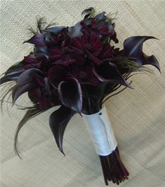 black bouquet