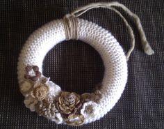 257 Beste Afbeeldingen Van Gehaakte Krans Crochet Wreath Crowns