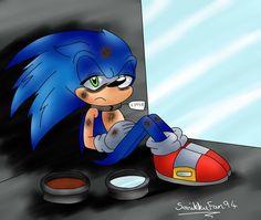 Sonic: Letting Go of Hope by SonikkuFan94 on DeviantArt