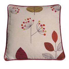 Montgomery Terracotta 'Cleo' cushion cover- | Debenhams