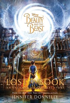 "Disney has just released the cover for my latest novel, Lost in a Book! I love it and am so excited to share it with you! The story is an original addition to the beloved Beauty and the Beast fairytale. It follows the lonely, bookish Belle as she finds an enchanted book in the Beast's library called ""Nevermore"" that carries her into a glittering new world. There, Belle is befriended by a mysterious countess who offers her the life she's always dreamed of. But Nevermore is not what it seems,"