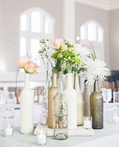 Easy DIY centerpieces