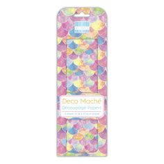 First Edition Rainbow Scales Deco Mache Arts And Crafts, Paper Crafts, Decoupage Paper, Your Favorite, Rainbow, Scrapbook, Range, Products, Rain Bow