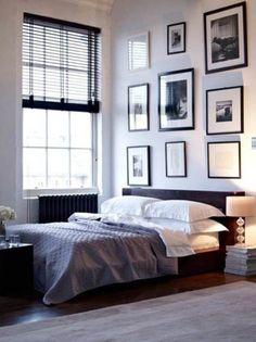 Badroom, Bedroom Photos Wall Decor Ideas: Unique Family Photo Ideas as Bedroom Wall Decoration