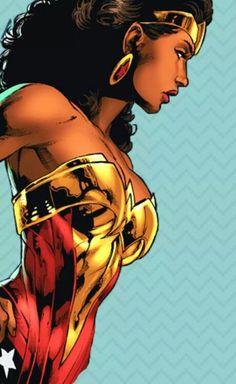 Nubia, Wonder Woman's  Sister