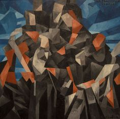 Francis Picabia - The Procession, Seville, 1912, oil on canvas, 121.9 x 121.9 cm,