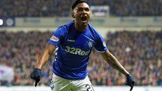 Alfredo Morelos: Rangers forward signs new contract until 2023 Bbc Football, Rangers Football, Rangers Fc, Hjk Helsinki, Steven Gerrard, Feeling Special, Glasgow, Sports, Hs Sports