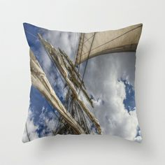 Under Flag Throw Pillow by Angelika Kimmig - $20.00