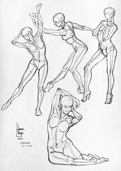 Anatomical study - sketches dancers | Flickr - Photo Sharing!