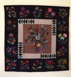 2012 Quilts Plus Wool Applique BOM - finished April, 2013