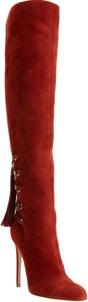 GIANVITO ROSSI Back Tassel Knee Boot ..... W o W ❣