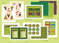 Yay, I Made It!: Free Download: TMNT Inspired Ninja Turtle Party Printables