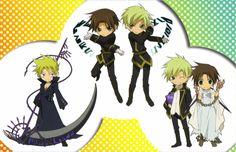 Tags: 07-ghost, Teito Klein, Frau (07-ghost), Mikage (07-ghost), Official Art