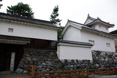 Japanese castles I've visited: #73 Ogaki Castle in Gifu Prefecture. Major construction works were going on when I visited in summer 2010, so I couldn't take a photo of the main tower.