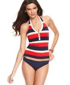 b8f65f9929dd6 Tommy Hilfiger Swimsuit, Classic Solid Hipster Brief Bottom & Reviews -  Swimwear - Women - Macy's