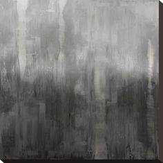 size: Stretched Canvas Print: Gradation in Grey by Justin Turner : Using advanced technology, we print the image directly onto canvas, stretch it onto support bars, and finish it with hand-painted edges and a protective coating. Justin Turner, Vsco, Grey Abstract Art, Grey Wall Art, Gray Aesthetic, Beach Aesthetic, Painting Edges, Stretched Canvas Prints, Original Image