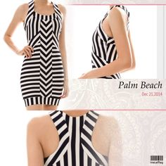 """STRIPED PRINT BODYCON This flattering striped dress is so cute. Different  directional lines create a beautiful look. 95% polyester/5% spandex. 33"""" long.                                  LARGE: 35-30-39"""" stretching about 3 additional inches. True bodycon, holds you tight! Dresses"""