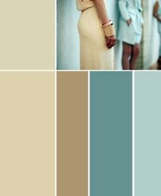 Turquoise and tan, want these colors for my bedroom!