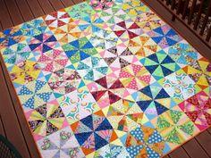The Way I Sew It: Kaleidoscope Quilt Finish