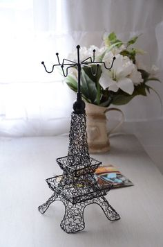 Eiffel Tower Jewelry Holder Stand For Earrings And by ModestLuxury, $19.90