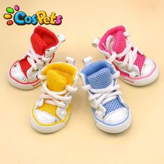Net material pet dog shoes puppy dog big dog shoes by kelifastner, $12.00