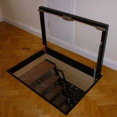 hatch door to cellar | tray type cellar basement door top face of the cellar trap door ...