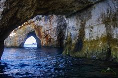 Zakynthos – Amiért mindenki a szigetre jön. Caves, Olympus, Greece, Blue, Outdoor, Greece Country, Outdoors, Blanket Forts, Outdoor Games