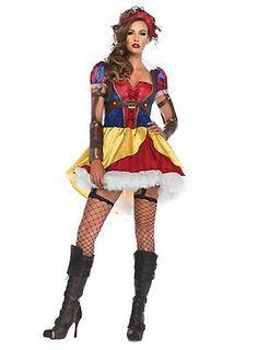 Steampunk Schneewittchen Kostüm  von maskworld.com #schneewittchen #fasching #karneval #steampunk #sexy