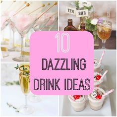 drink ideas for your wedding