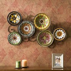 Kitchen Metal Wall Decor Plates Art Design Hall Dining Room Home Decorations New #Unbranded #AntiqueStyle