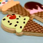Click to enlarge Ice Cream Cone Cookies
